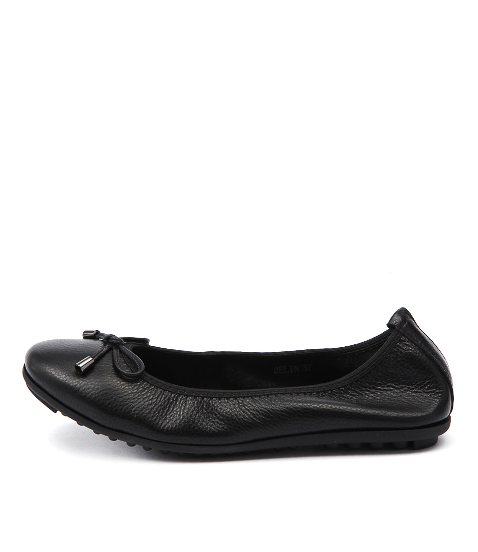 Django & Juliette Belin Black Flat Shoes