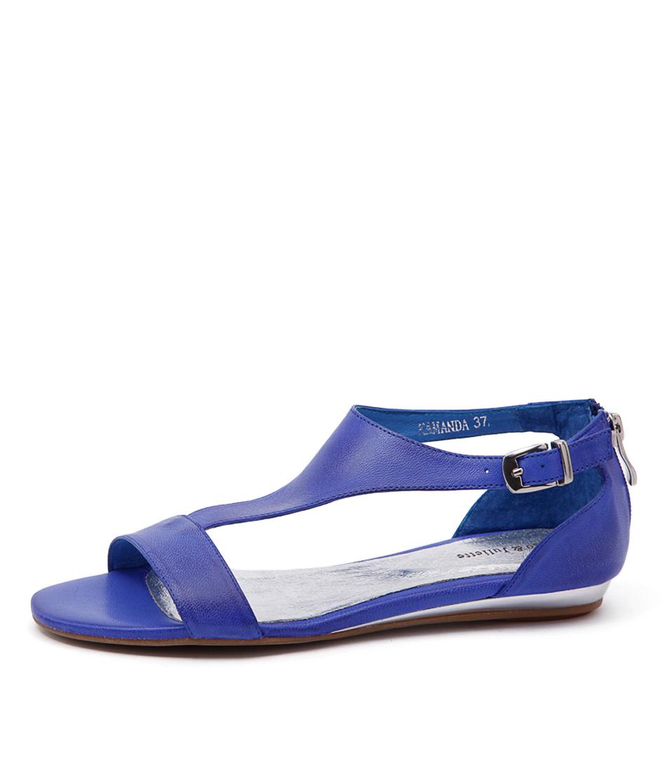 Django & Juliette Kamanda Cobalt Sandals