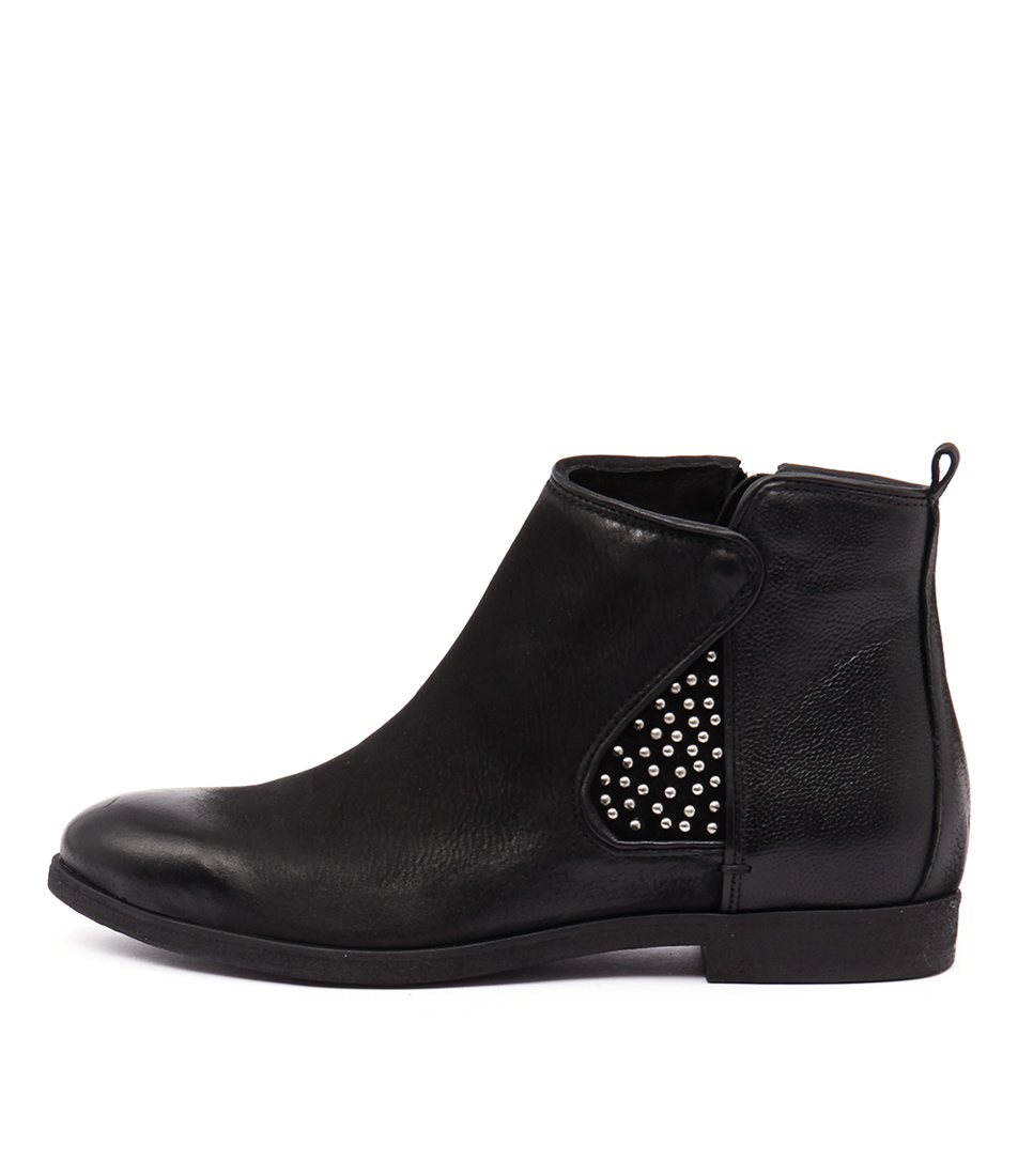 photo of Django & Juliette Brody 183 107 Fy Nero Casual Ankle Boots online