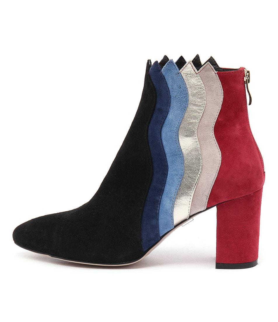 Django & Juliette Adonia Bright Multi Ankle Boots