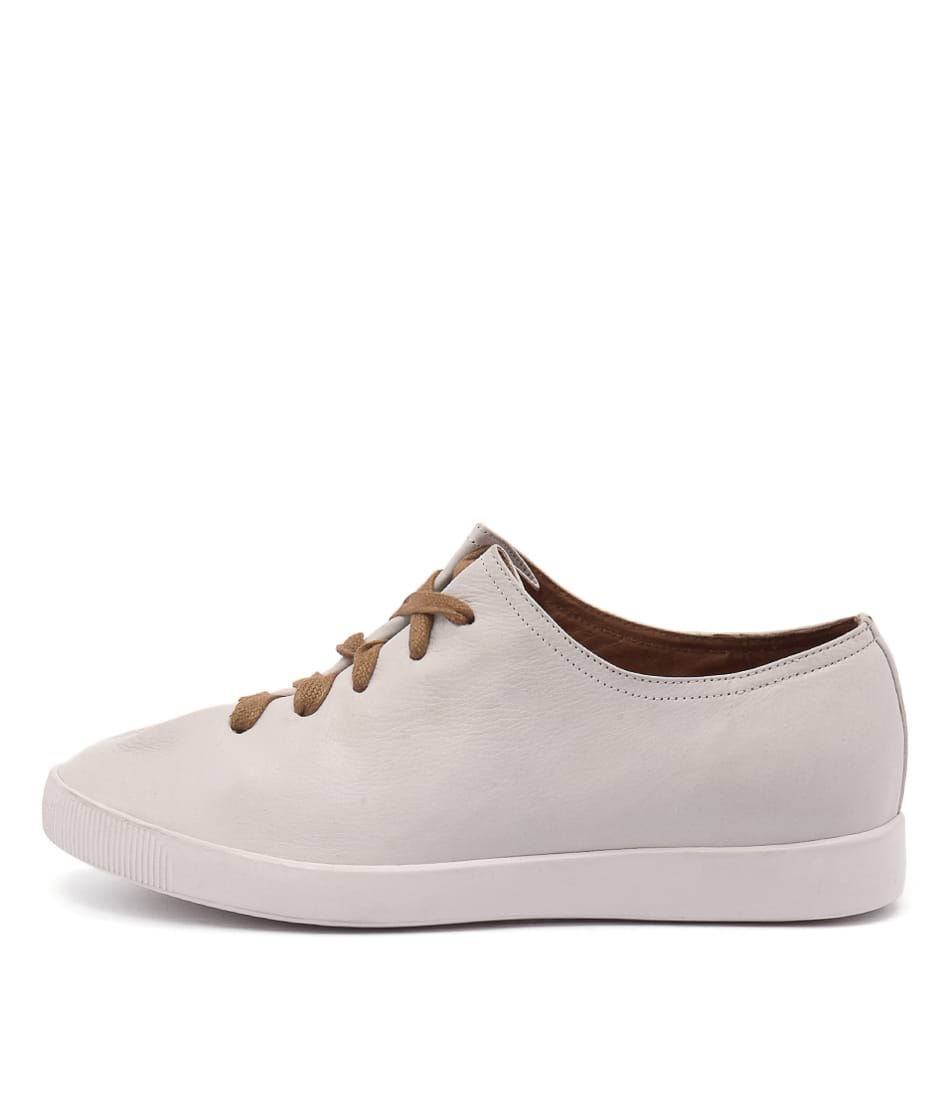 Django & Juliette Gangly White Sneakers