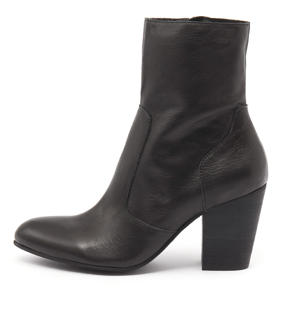 Photo of Django & Juliette Hester Black Ankle Boots womens shoes