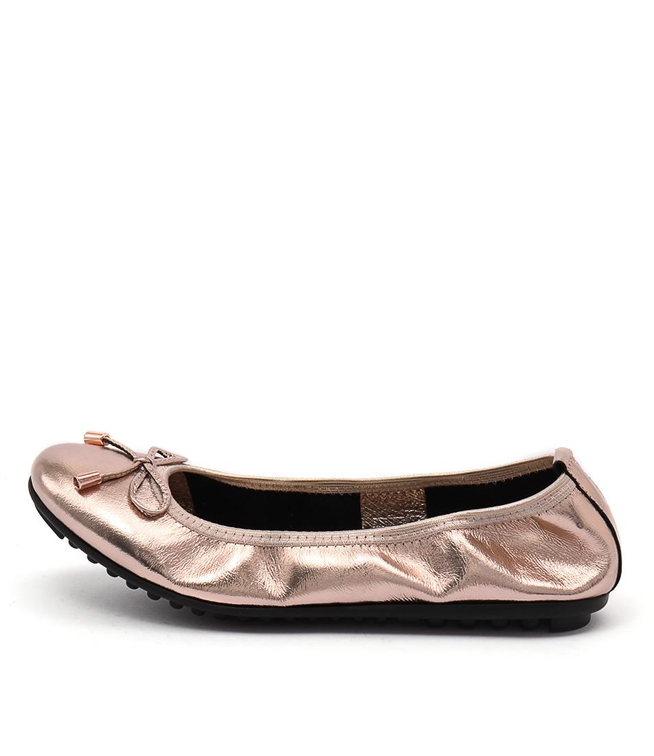 Django & Juliette Belin Rose Gold Flats