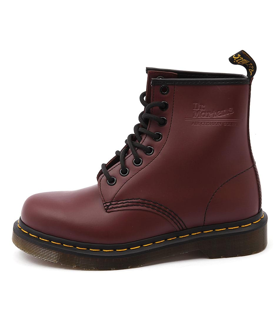 Dr Marten 1460 8 Eye Boot Cherry Ankle Boots