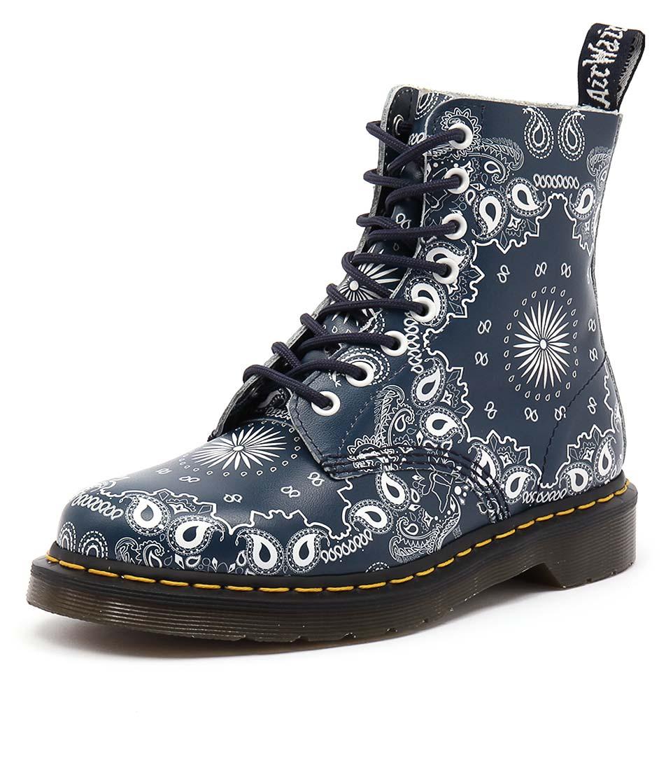 Dr Marten Pascal 8 Eye Boot Bandana Boots