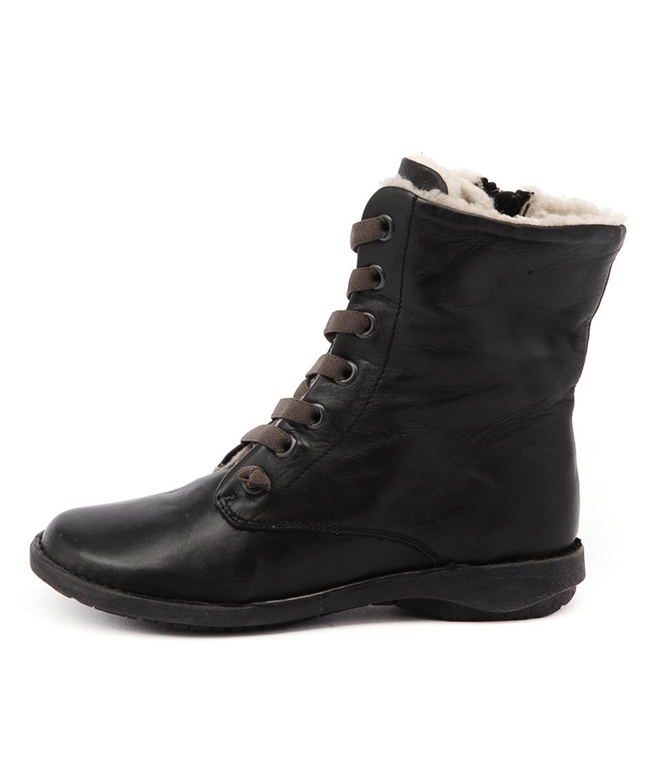 Effegie Sukida W Black Ankle Boots