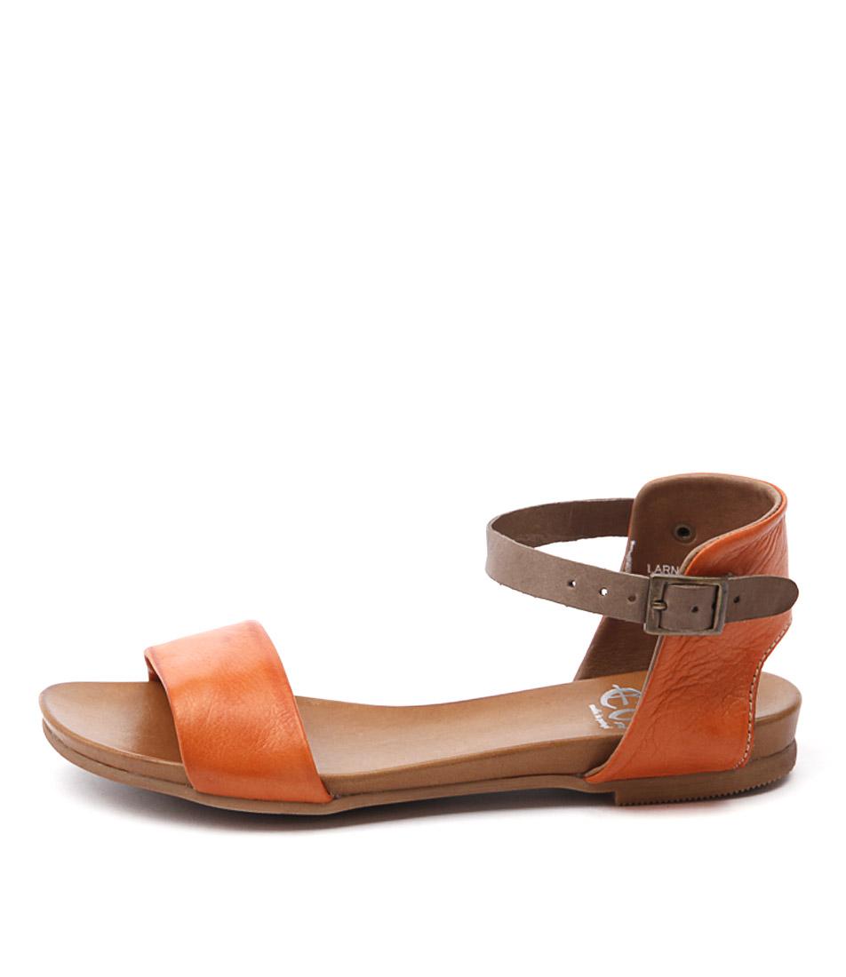Eos Larna Tangerine Sandals