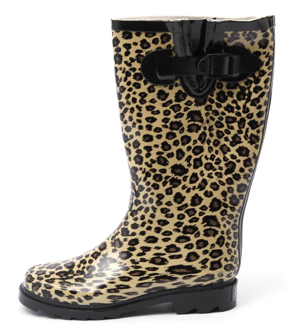 Gumboots Leopard Leopard Boots