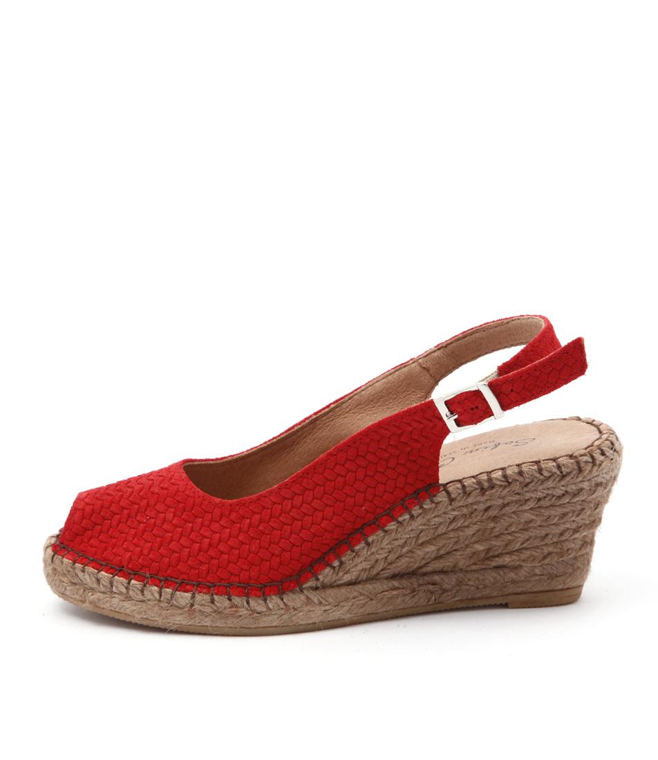 Sofia Cruz Ana 11 Sc Red Sandals