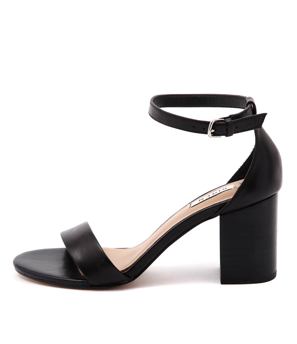 Siren Fifi Si Black Sandals