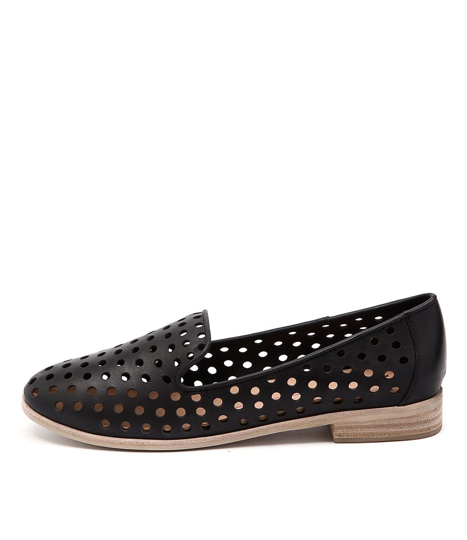 Mollini Queff Black Casual Flat Shoes