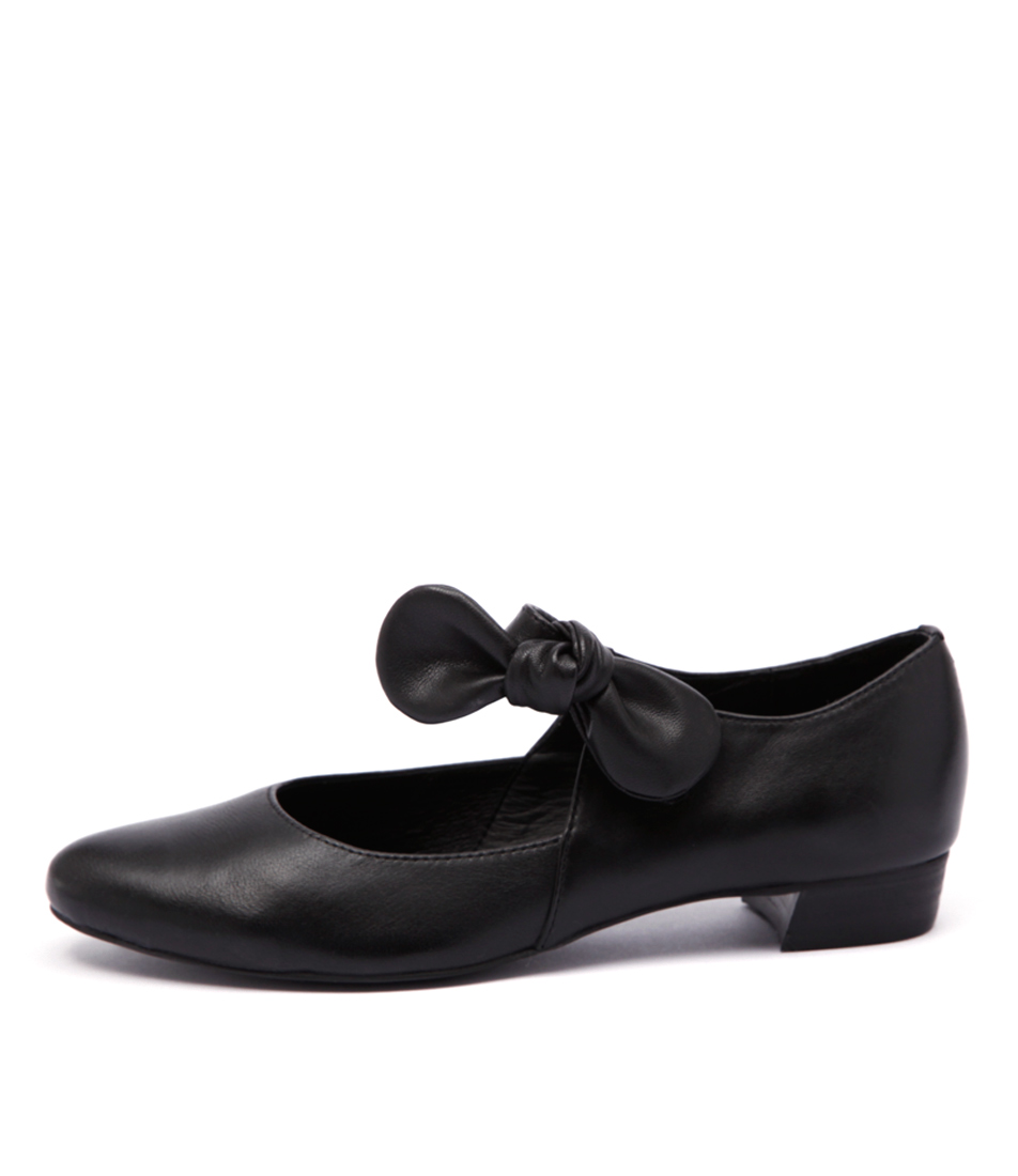 Django & Juliette Eco Black Shoes