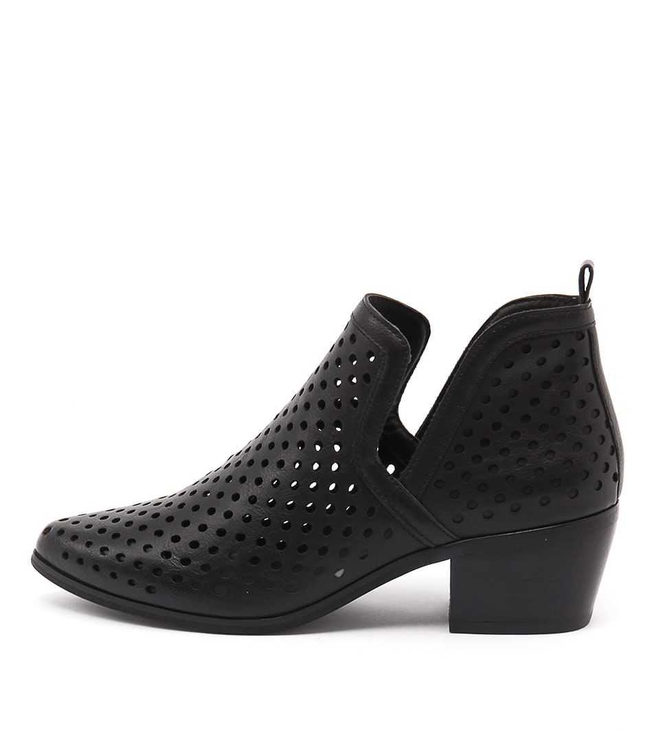 Lavish Lillie Lv Black Casual Ankle Boots