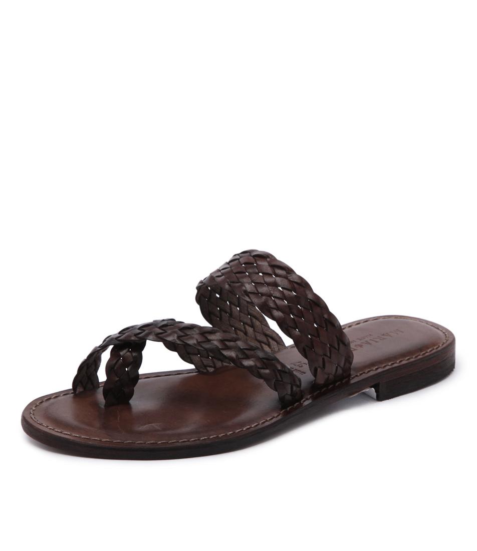 New Maria Rossi Elana 1104 Brown Womens Shoes Casual Sandals Sandals Flat