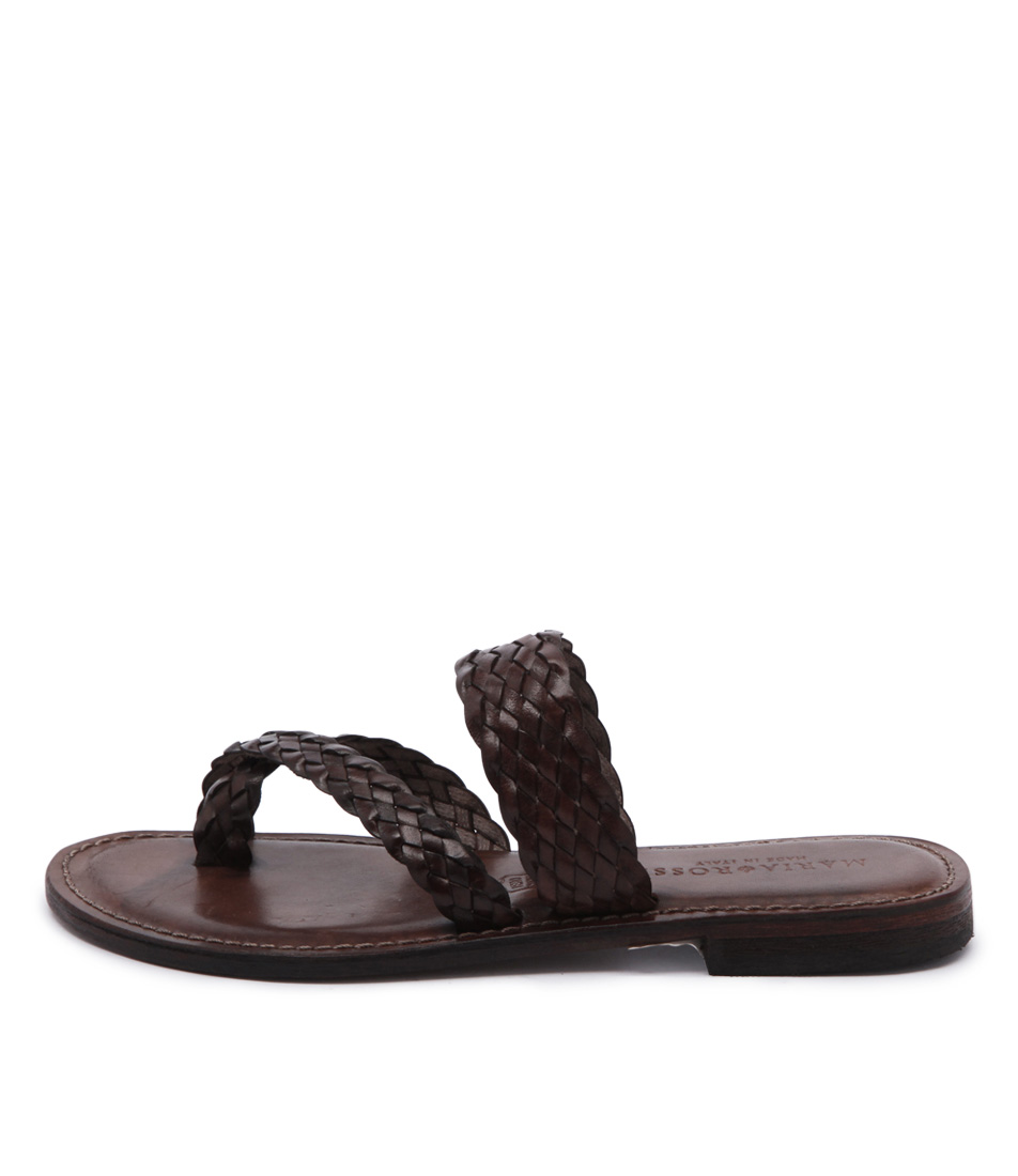 Maria Rossi Elana 1104 Brown Casual Flat Sandals
