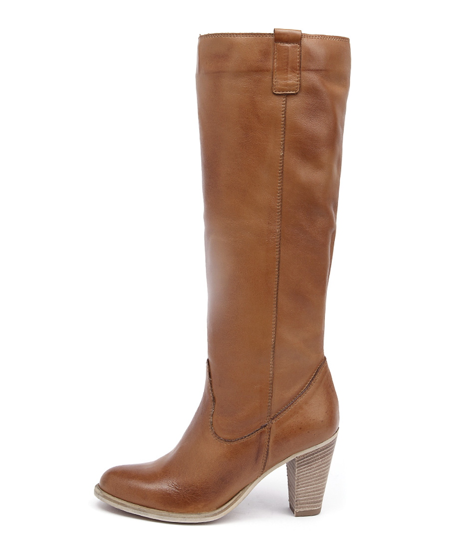 Maria Rossi Dakota St Tan Casual Long Boots
