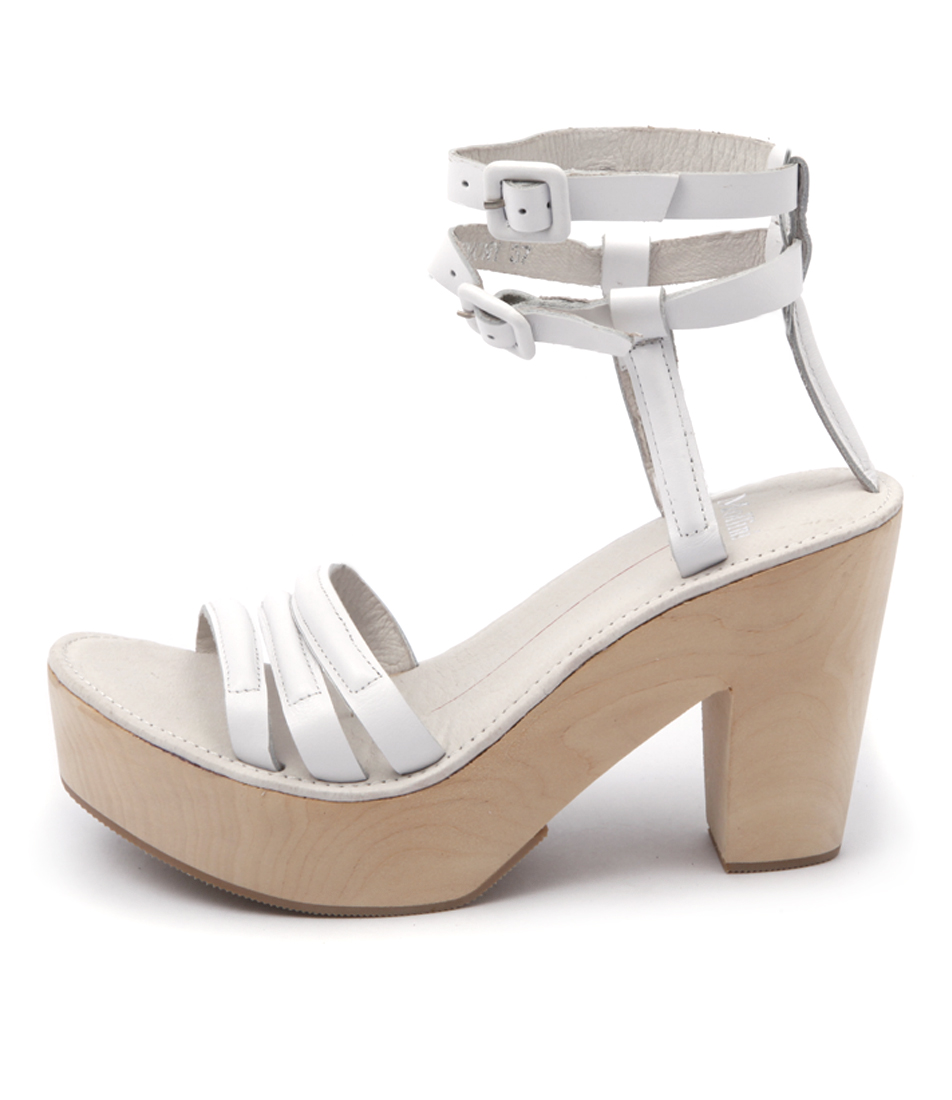Mollini Lemony Mo White Sandals