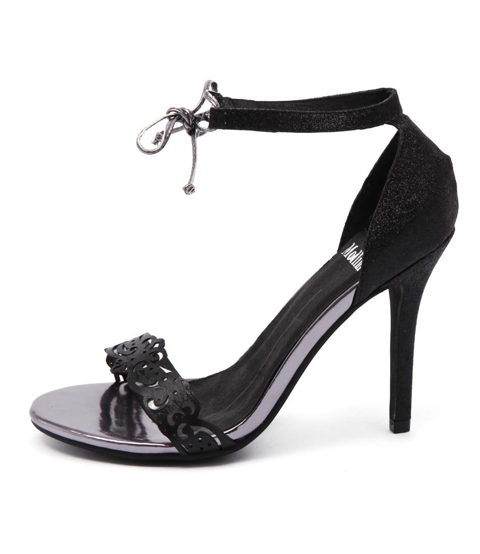 Mollini Lozzy Black Sandals