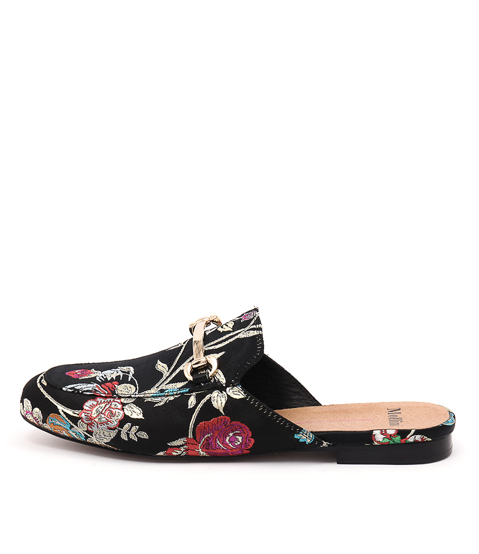 Mollini Gracelee Black Jacquard Shoes