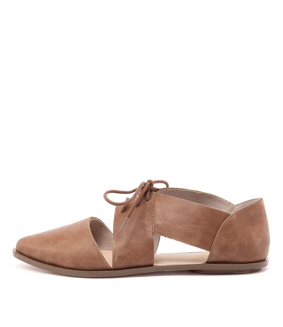 Nude Kira Nu Tan Flat Shoes