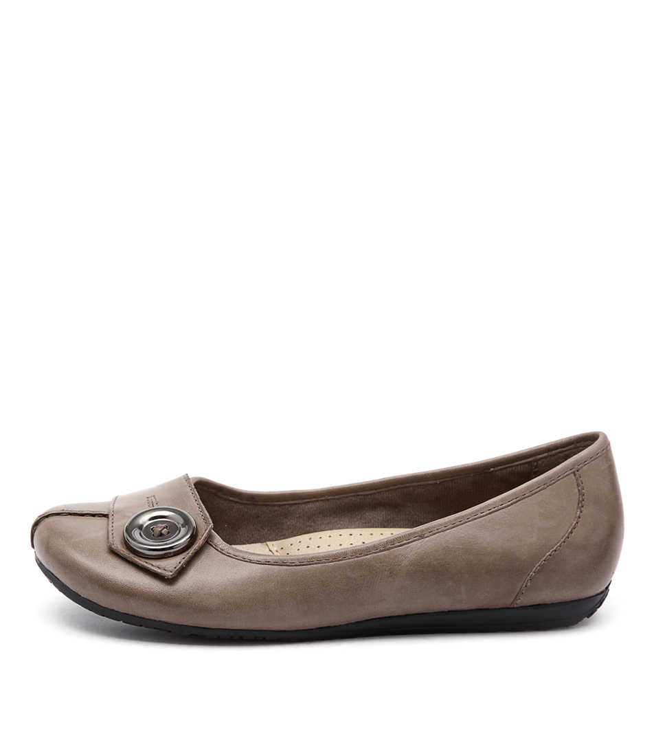 Planet Tali Pl Taupe Comfort Flat Shoes