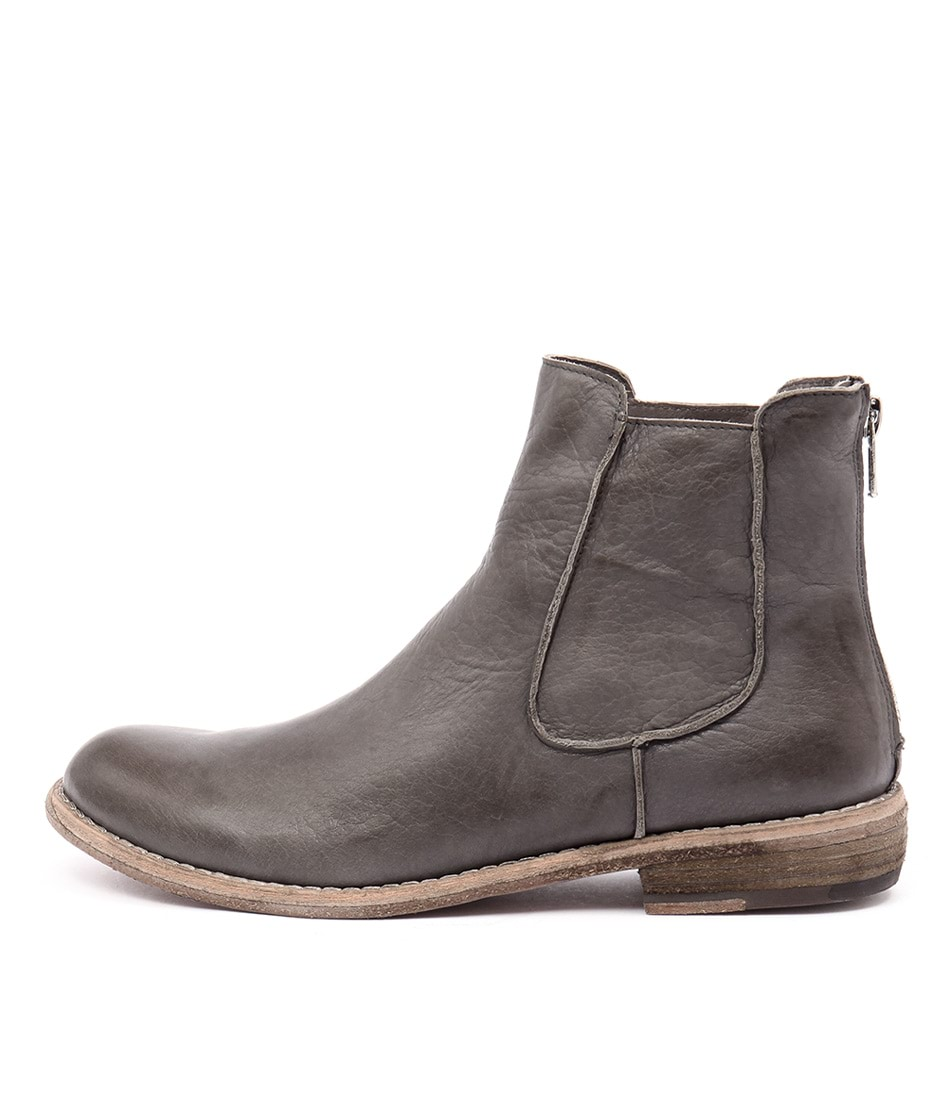 Silent D Casey Dark Grey Ankle Boots