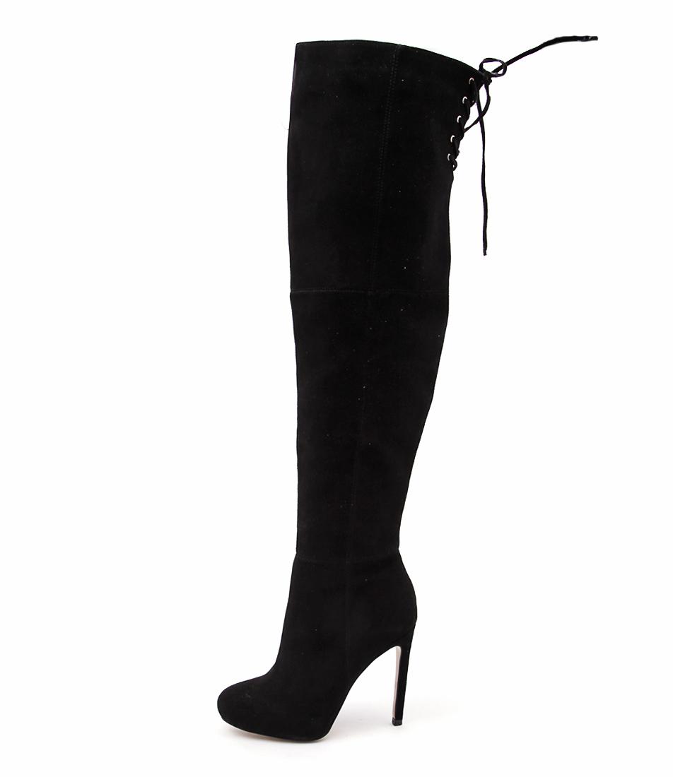 Siren Revolution Black Long Boots