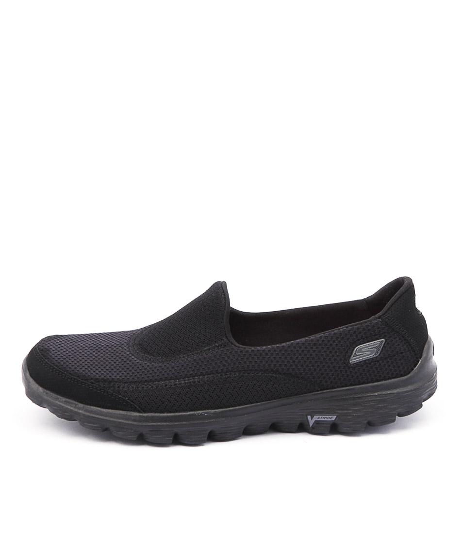 Skechers 13590 Go Walk 2 Black Black Sneakers