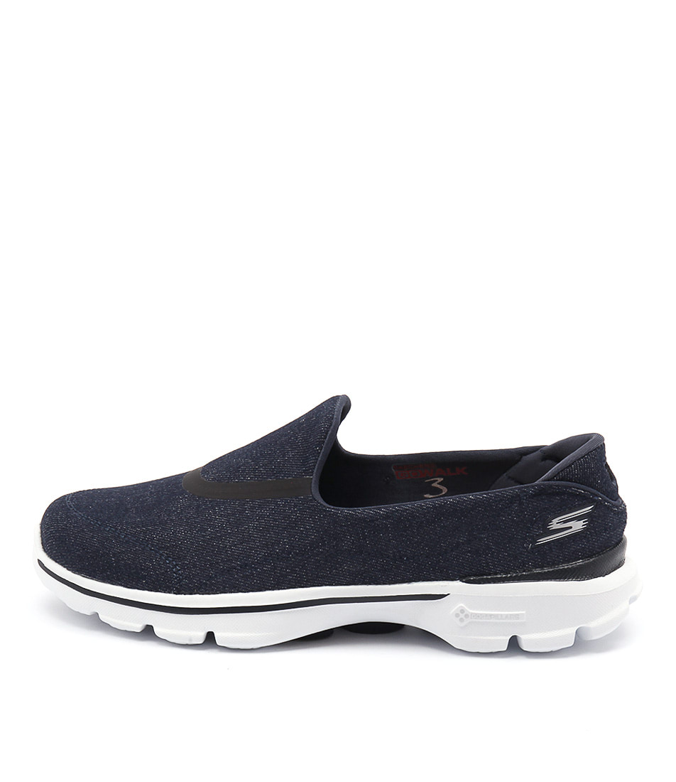 Skechers 14025 Go Walk 3 Enthuse Denim Sneakers