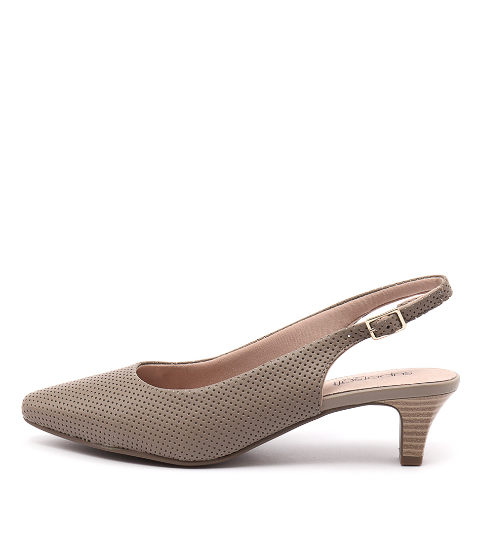 Supersoft Lexi Su Fawn Heeled Shoes