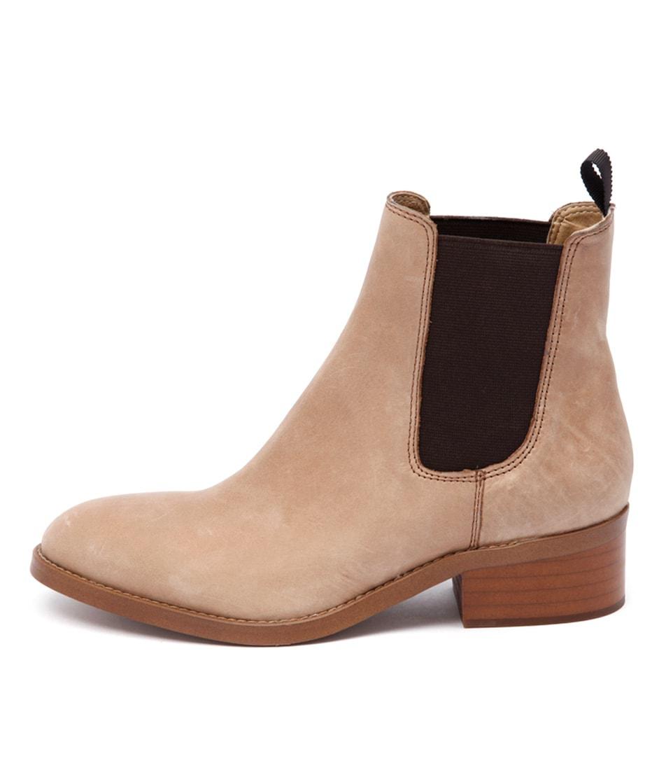 Tony Bianco Pristine Fudge Casual Ankle Boots