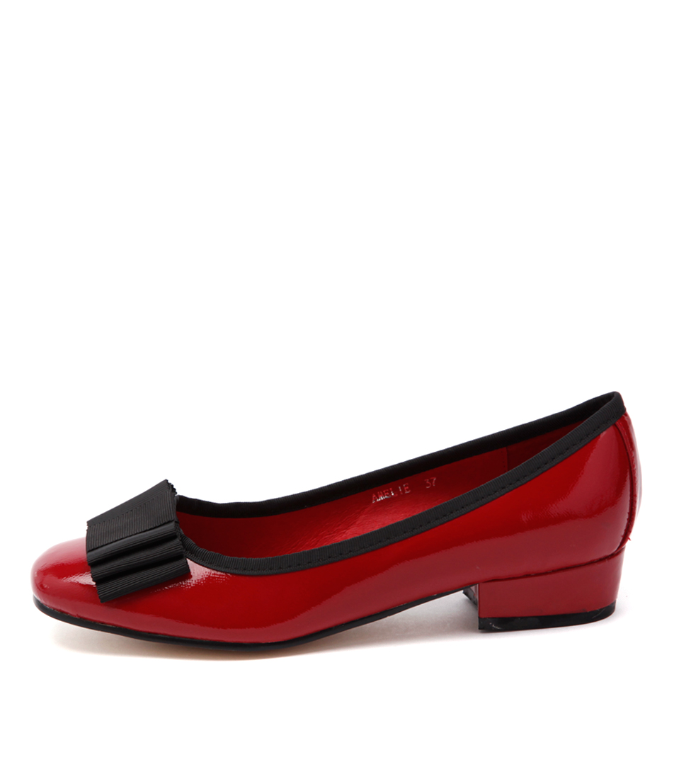 Top End Amelie Red Shoes