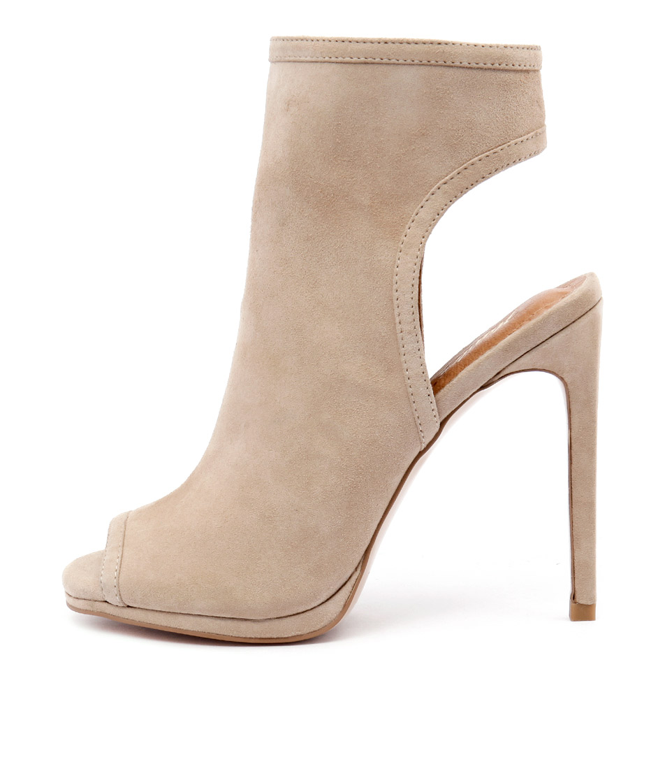Wanted Carella Nude Ankle Boots