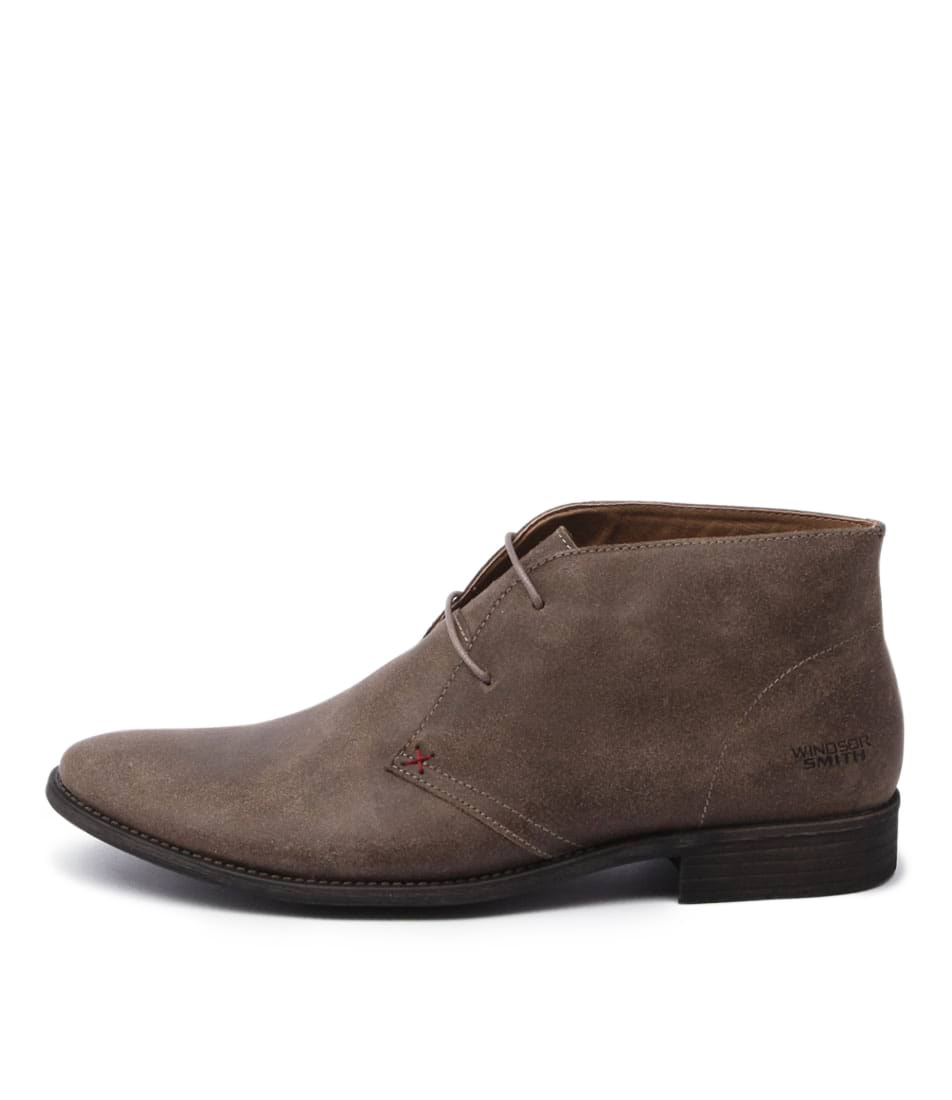 New Windsor Smith Harvard Taupe Mens Shoes Casual Boots Ankle