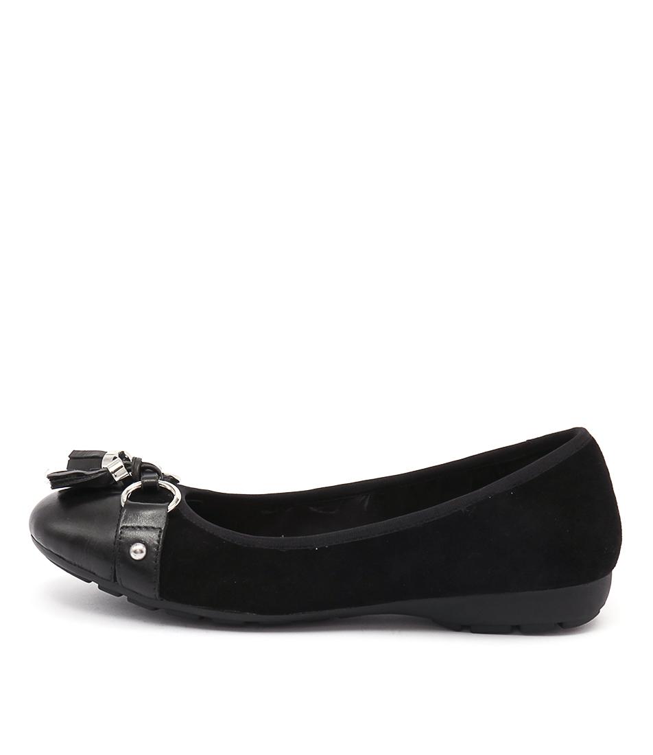 Zensu Paige Ze Black Casual Flat Shoes