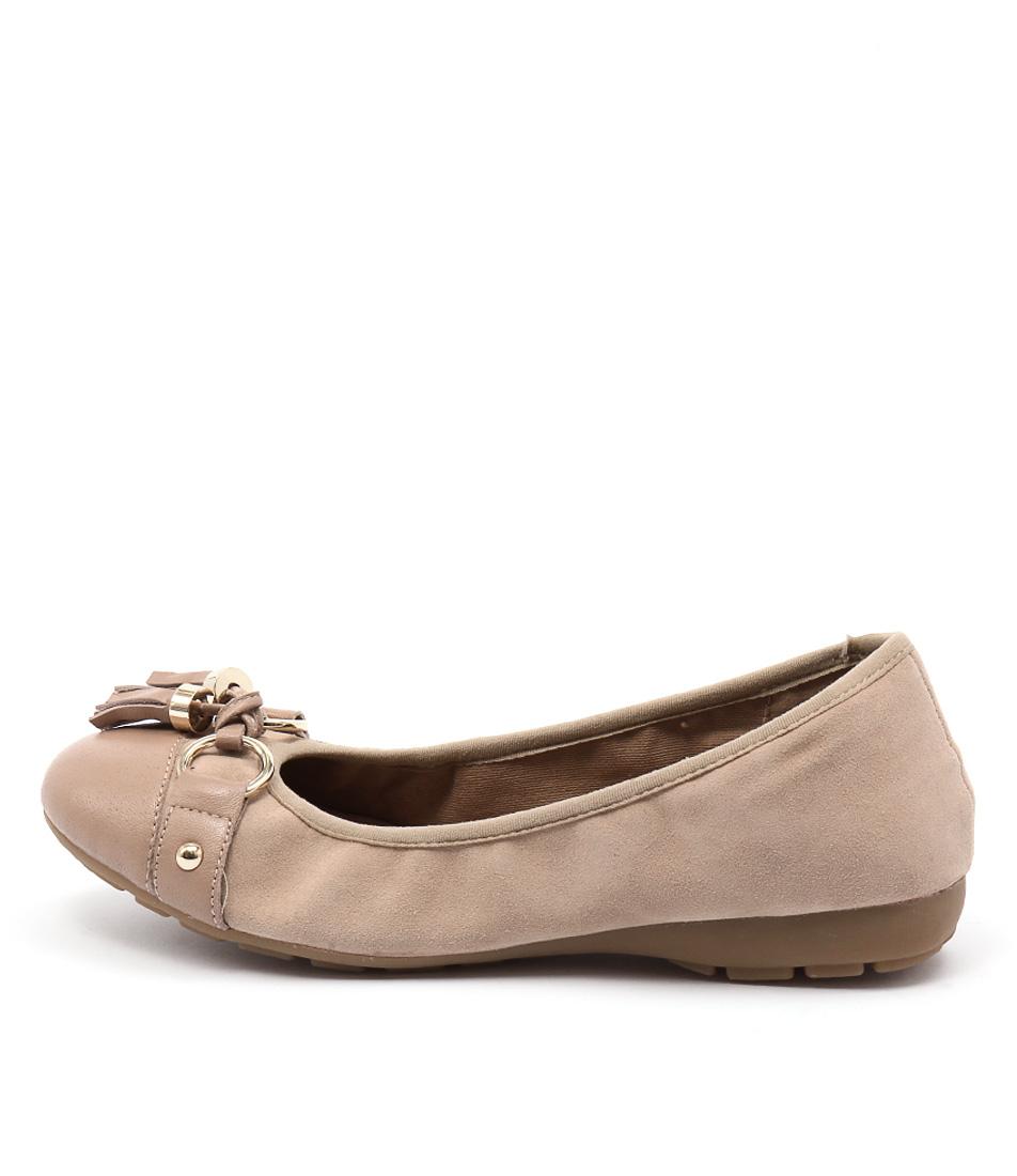 Zensu Paige Ze Camel Casual Flat Shoes