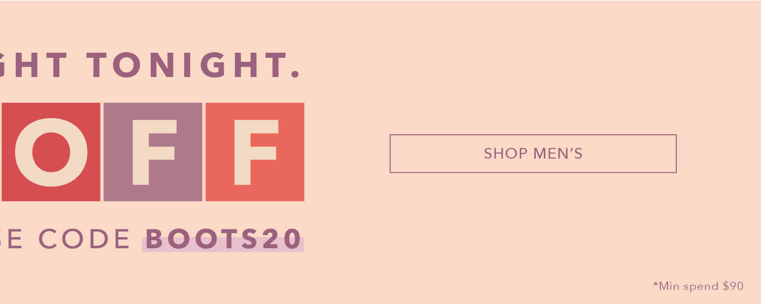 20%off Boots Sale