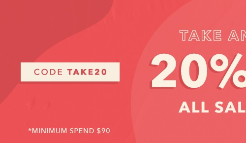 Extra 20%off Sale